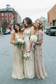 papell bridesmaid dress how to dress your bridesmaids the refined