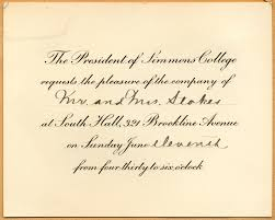commencement invitation caroline invitation to commencement for mr and mrs stokes