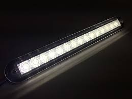 flush mount led lights 12v marine boat white led strip light 176lm flush mount 12v 3w ip67