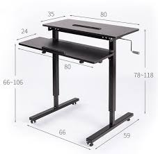 office furniture standing desk adjustable height adjustable sit stand desk with heavy duty steel frame office