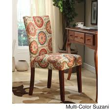 Red Parsons Chairs Dining Room Cloth Dining Room Chairs Dark Brown Kitchen Chairs
