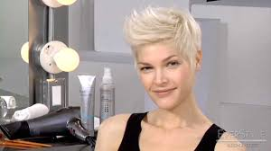 Edgy Hairstyles Women by Everstyle Get The Look Create An Edgy Short Hair Style Youtube