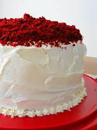 vanilla bean red velvet valentine cake