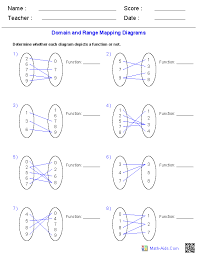 identifying functions from mapping diagrams worksheets