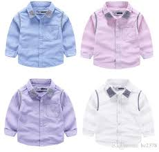 autumn style oxford shirt little boys shirts pocket style special