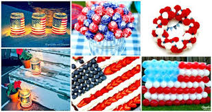 30 DIY 4th of July Decorations Patriotic DIY Fourth of July