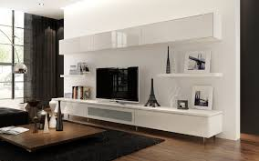 living room beautiful wall mount shelf ideas with white gloss