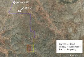 Google Map Arizona by 20 Acres With Trees And Hilltop Views In Az Deed Ventures