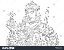 stylized king prince royal lord crown stock vector 485768695