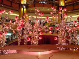New Year S Day Decoration Ideas by Chinese New Year Decoration Sunway Pyramid With Accessories And