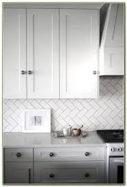 Herringbone Tile Backsplash Cobble Herringbone White Shaker - Herringbone tile backsplash