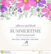 wedding invitation background free download vector wedding invitation and background with flowers stock