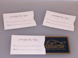 gift card sleeve a gift for you white gift card carrier swipeit custom gift
