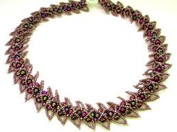 necklace beaded pattern images Free pattern for beaded necklace andromeda beads magic jpg