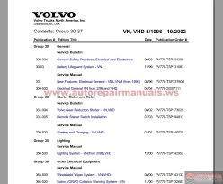 volvo vnl truck wiring diagrams volvo d13 engine fault codes