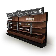 wine shop decoration ideas shelving and signage