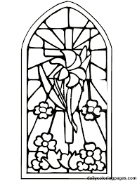 easter cross coloring page 28 images easter colouring