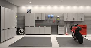 wall mounted garage cabinets modern light gray garage ideas with light gray wall painted 3
