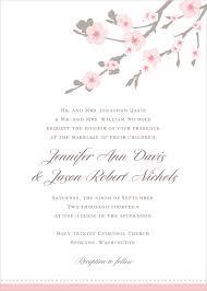 cherry blossom wedding invitations cherry blossom wedding invitation