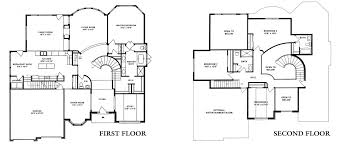 glenridge hall floor plans glenridge single scenic view floor plans kay builders
