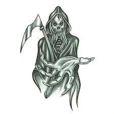 female grim reaper tattoo design tattoowoo com