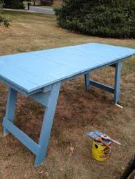 Folding Wooden Picnic Table Plans by Free Woodworking Plans To Build A Fabulous Folding Table The