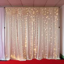 wedding backdrop with lights backdrop lights