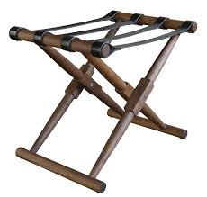 White Bedroom Luggage Rack With Shelf 1930s French Deco Leather Luggage Rack St Barts House