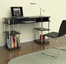 best desks for students amazon com convenience concepts modern no tools student desk black