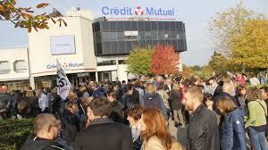 siege social credit mutuel la roche jour de grève au crédit mutuel océan