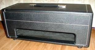 Custom Head Cabinet Paul Ruby Amplifiers