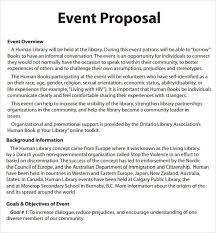 ideas of sample proposal letter for event planning with additional