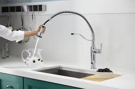 Sprayer Kitchen Faucet Kohler Sous Pro Style Single Handle Pull Down Sprayer Kitchen With