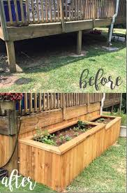 a backyard makeover with raised garden beds best wooded landscape