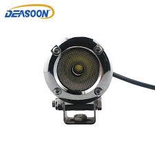 2 inch led spot light 2pcs chrome motorcycle front headlight 10w led spot light car 2 inch