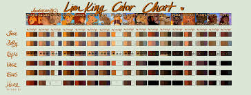 lion king colors androsanity deviantart