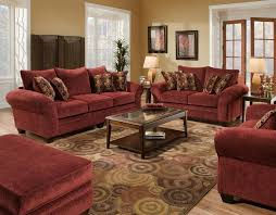 Sofa Bed American Furniture American Furniture Manufacturing Masterpiece Burgundy Sofa