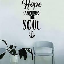 5x7 Love Anchors The Soul - shop anchor room decor on wanelo