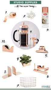 best 25 gold office supplies ideas on pinterest chic cubicle