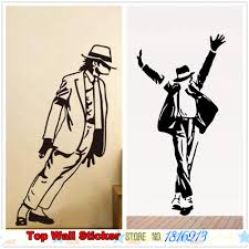 online shop hot michael jackson poster wall sticker boys girls online shop hot michael jackson poster wall sticker boys girls fans dancing room wall decals home decoration vinyl wall paper paste stickers aliexpress