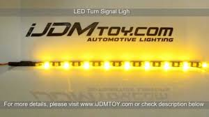 Led Strip Tail Lights by Ijdmtoy Tail Lights Switchback Led Strip Lights Youtube