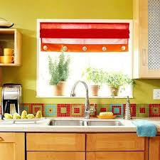green and red kitchen ideas yellow and green kitchen ideas ghanko com