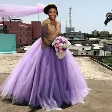 the last song wedding dress photos nollywood scarlet shotade weds hubby in purple