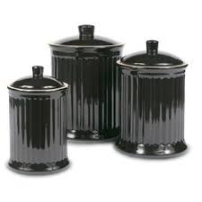 black and white kitchen canisters barrel studio newmont 3 kitchen canister set reviews