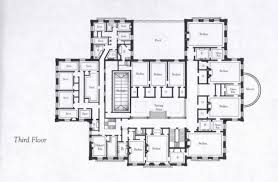 lynnewood hall 2nd floor gilded era mansion floor plans floorplans for gilded age mansions skyscraperpage forum plane
