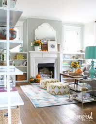 Fall Living Room Ideas by 14 Fabulous Fall Home Tours