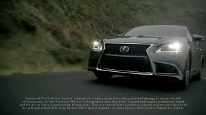 lexus ls 460 car and driver lexus ls advanced pre collision system youtube