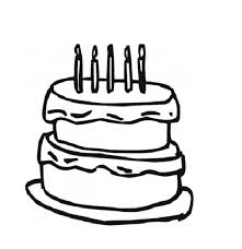 download free birthday cake coloring page or print free birthday