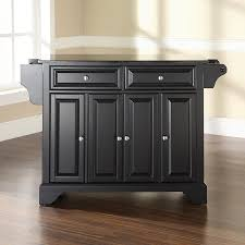 crosley kitchen island shop crosley furniture black craftsman kitchen island at lowes