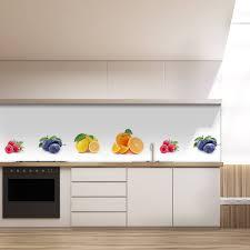 küche rückwand küchenrückwand aus glas früchte 989704273
